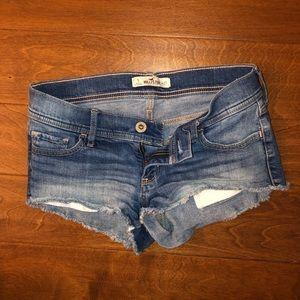Hollister denim ombre wash shorts